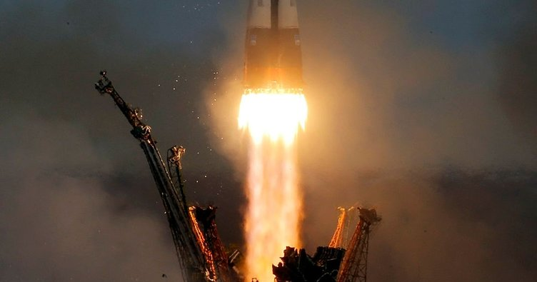 Soyuz kapsülü fırlatıldı