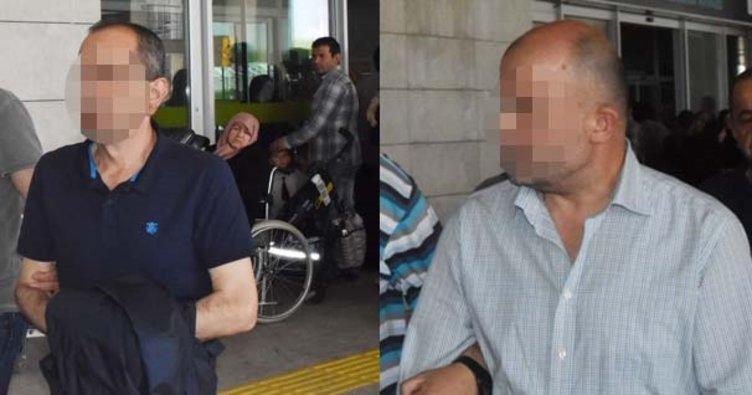 Firari FETÖ'cüler havalimanında gözaltına alındı