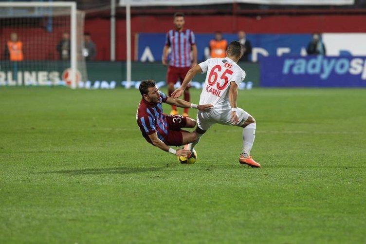 Trabzonspor - Eskişehirspor maçının fotoğrafları