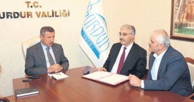 Burdur'da yeni okul protokolü imzalandı