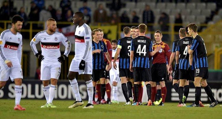 Brugge – Beşiktaş maçı sosyal medyayı salladı