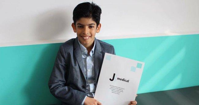 Juventus'a 10 yaşındaki Filistinli yetenek!