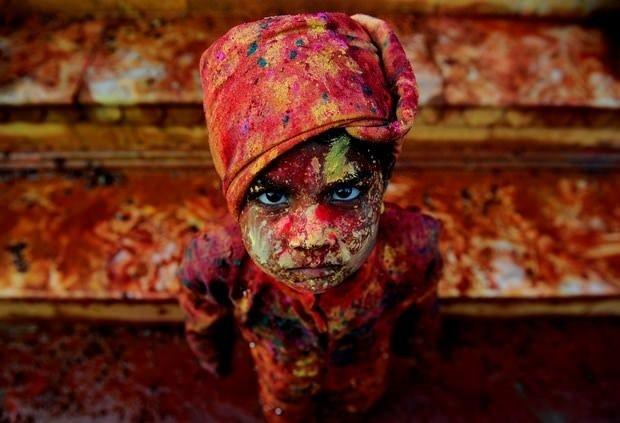 Hindistan'da Holi Festivali