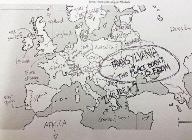 Türkiye'nin yerini bilmiyorlar
