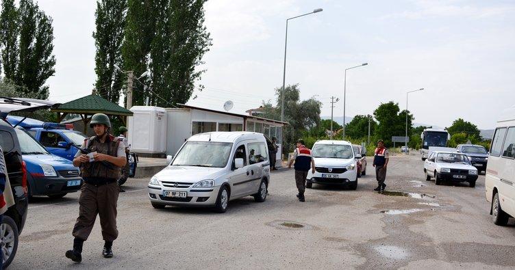 Antalya'da yollarda güvenlik önlemi