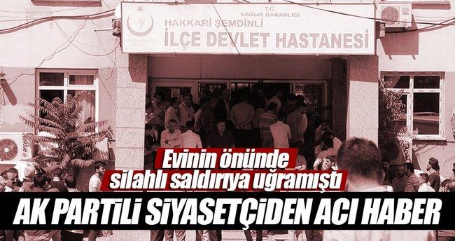 Ahmet Budak hayatını kaybetti