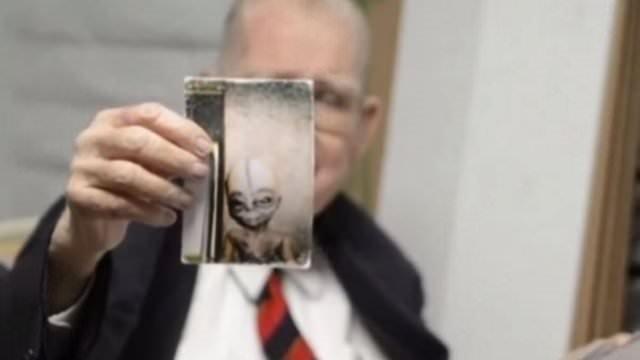 Uzaylıların fotoğrafını yayınladı