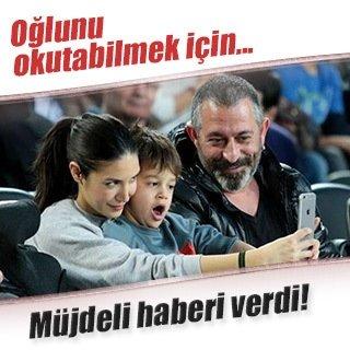 Cem Yılmaz oğlu Kemal için para basacak!