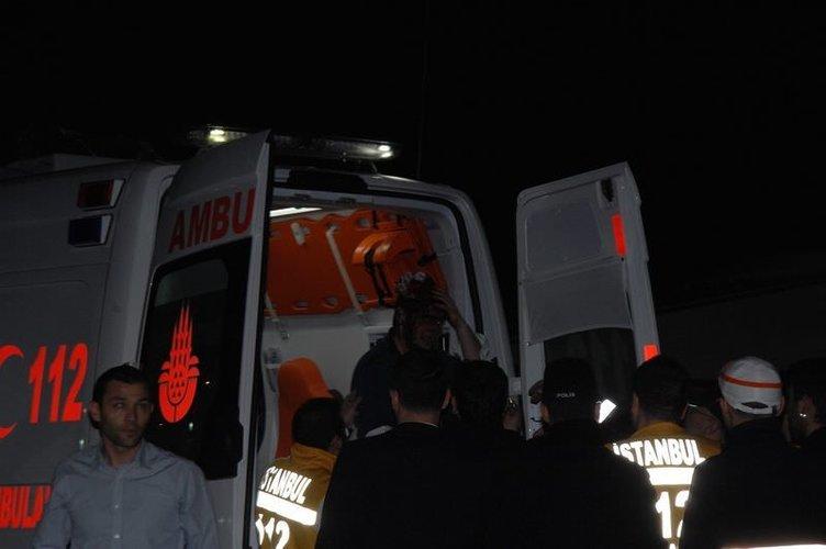 Boğaz'da korkutan kaza