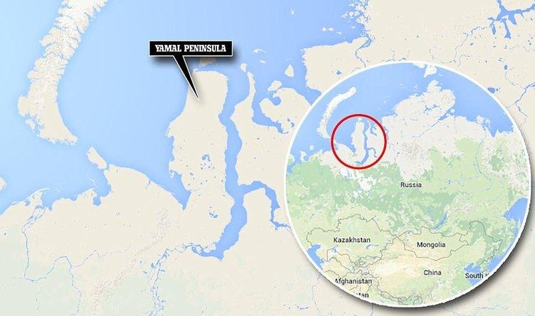 Rusya' da UFO şüphesi