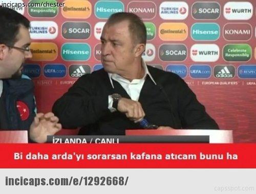 İzlanda -Türkiye maçı sonrası Caps'ler patladı!