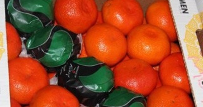 Ukrayna, 29 ton mandalinayı Türkiye'ye geri gönderdi