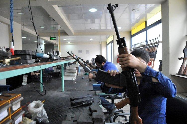 Kalaşnikof modelli yivsiz av tüfeği üretildi