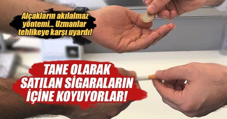 Tane Sigara, nargile ve e-sigaraya uyuşturucu karıştırılıyor