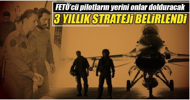 Savaş pilotu açığı, 3 yıllık yol haritasıyla çözülecek