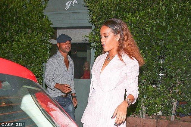 Rihanna'nın spor şıklığı!