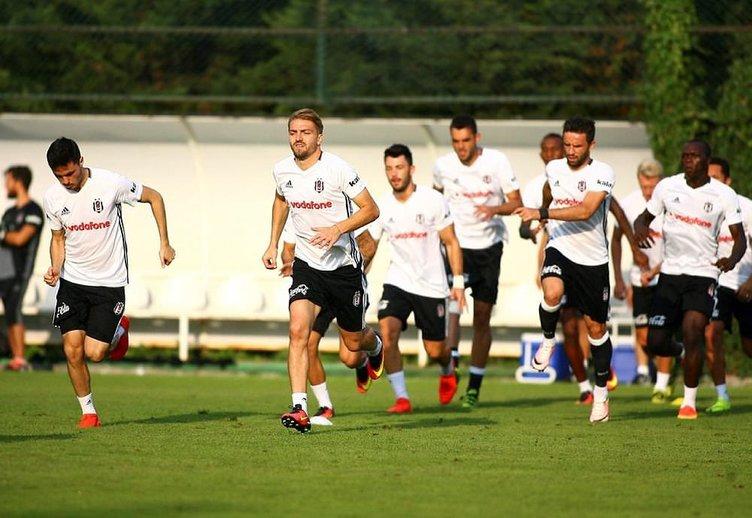Beşiktaş'ta 5 futbolcu kadro dışı