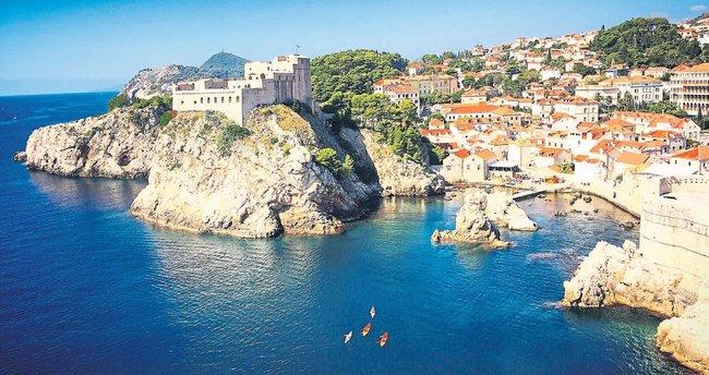 Hırvatistan'ın biblo kenti Dubrovnik
