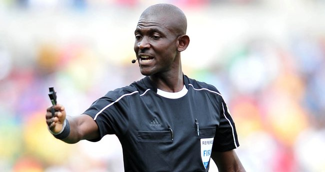 FIFA'dan Ganalı hakeme ömür boyu men cezası