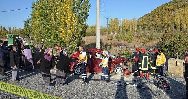 Konya'daki kazada ilkokulun kadın müdür vekili öldü