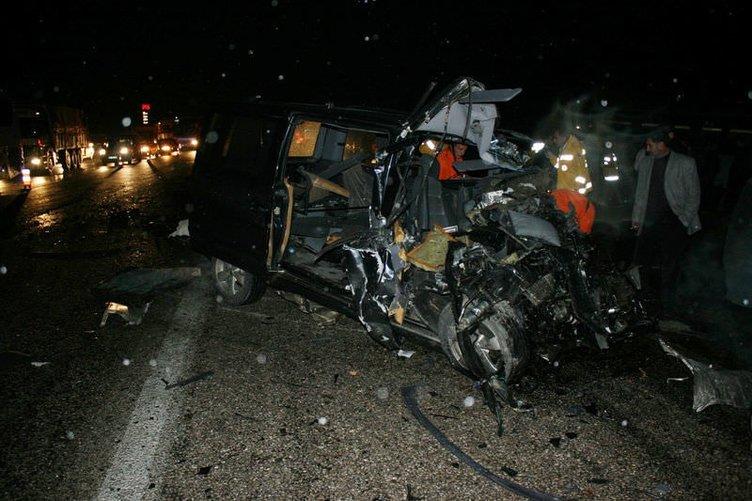 Afyonkarahisar'da trafik kazası: 6 ölü
