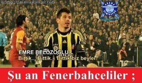 Güldüren Fenerbahçe capsleri