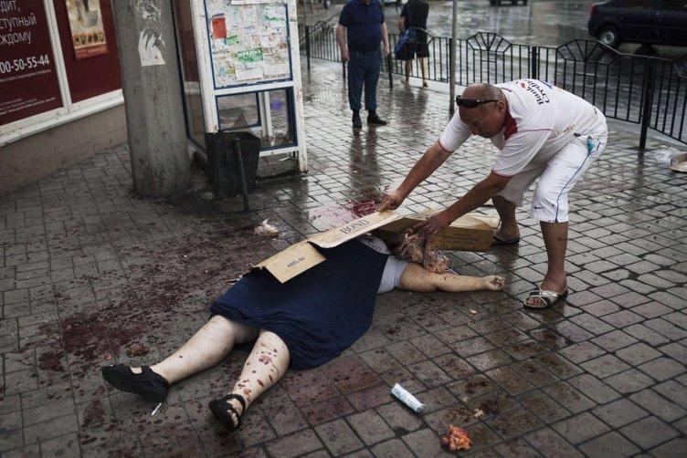 Ukrayna'dan kan donduran kareler
