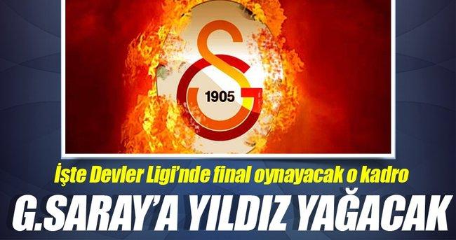 İşte Galatasaray'ın Şampiyonlar Ligi'nde final...