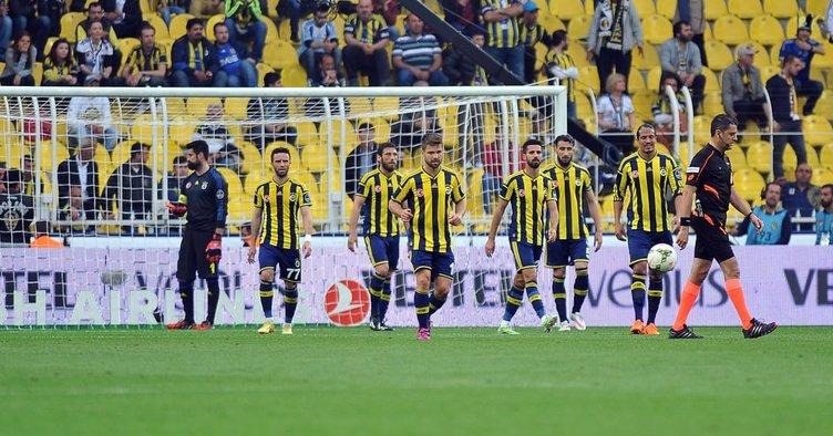 Fenerbahçe Balıkesirspor maçından kareler