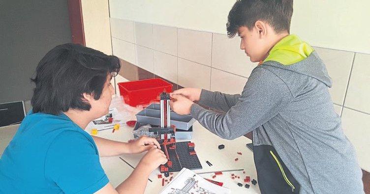 Genç dahiler robot yapıyor