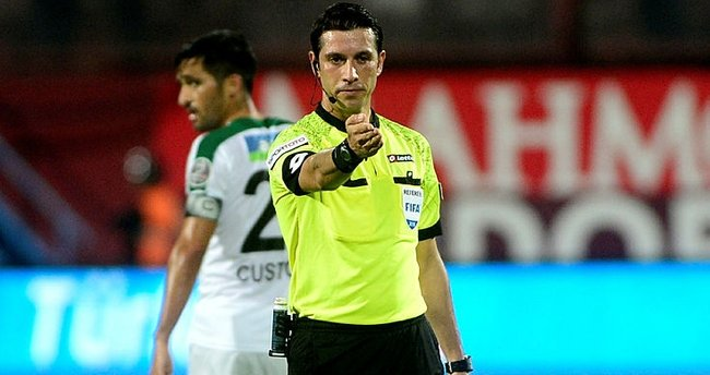 UEFA'dan Ali Palabıyık'a iki maçta görev