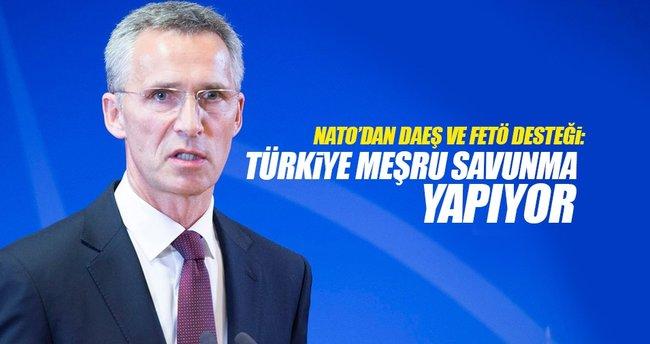 NATO Genel Sekreteri: Türkiye meşru savunma yapıyor