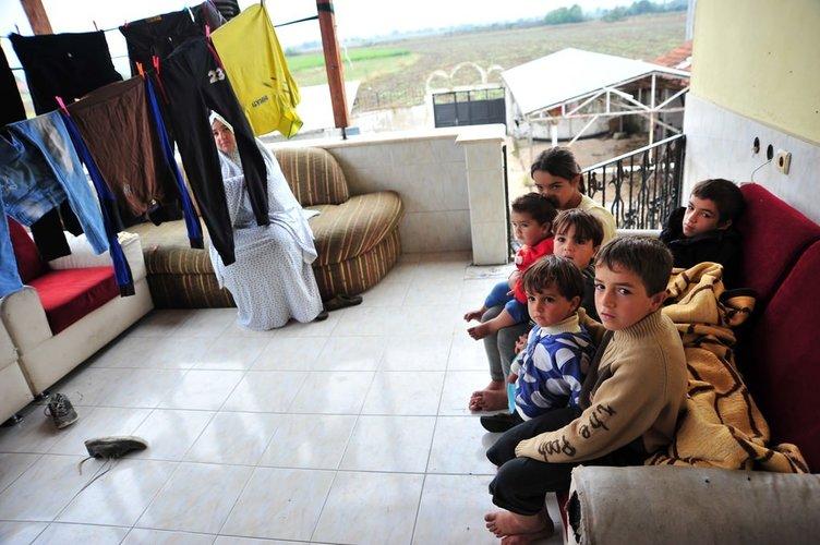 Eşi savaşta öldü, 6 çocuğuyla yaşama tutunuyor