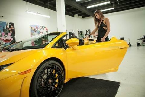 Justin Bieber'ın arabası ünlü oldu