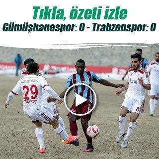 Trabzonspor'a kupada Gümüşhane şoku!
