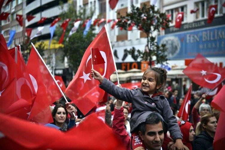 İstanbul'da 'Cumhuriyet' coşkusu