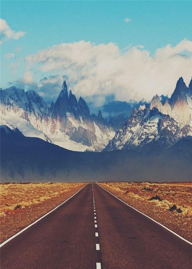 Etkileyici Dağ Manzaraları