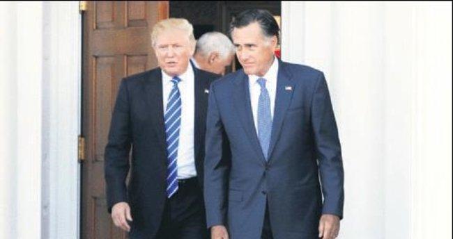 Trump'ın dışişleri bakanı Romney mi?