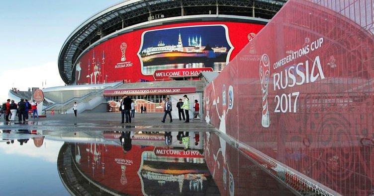 Konfederasyonlar Kupası final maçının biletleri tükendi