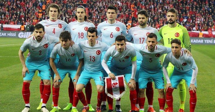 Türkiye, FIFA dünya sıralamasında 3 basamak geriledi