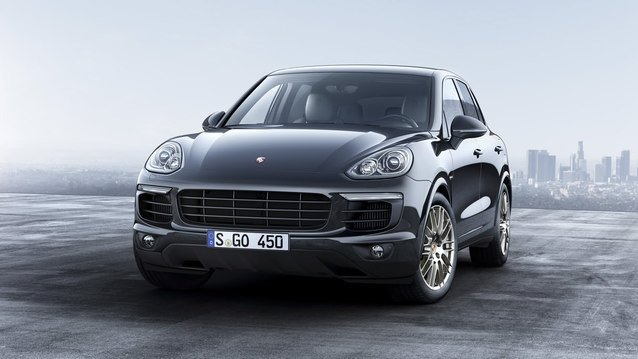 Porsche, Cayenne Platinum Edition'ı satışa sundu
