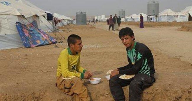 Musul'da yeni mülteci kampı