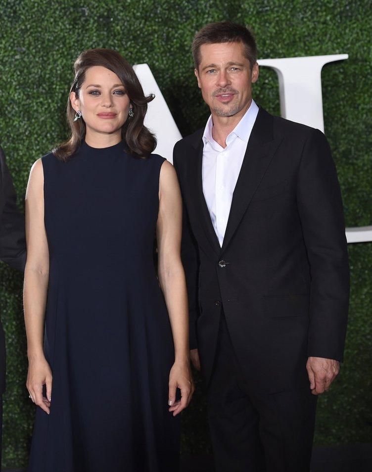 Aşk yaşadıkları iddia edilen Brad Pitt ve Marion Cotillard ilk kez birlikte!