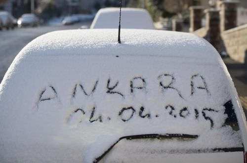 Nisan'da kar sürprizi!