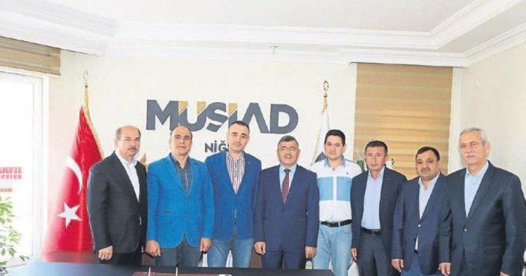 Başkan Akdoğan'dan teşekkür ziyaretleri