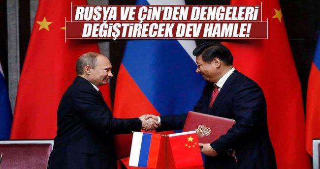 Rusya ve Çin'den dengeleri değiştirecek hamle