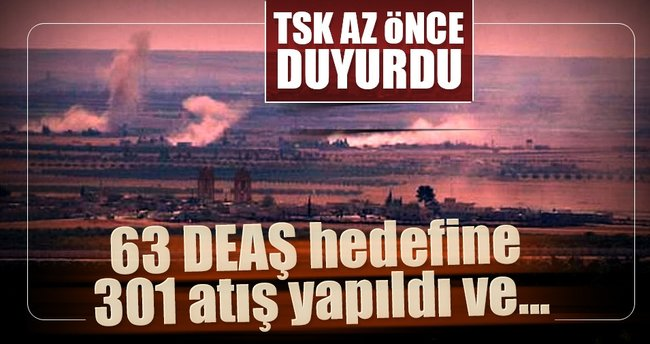 TSK: 13 DEAŞ mensubu öldürüldü