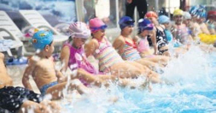 Etimesgut'un 5 kapalı yüzme havuzu olacak