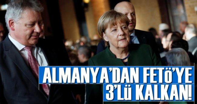 Almanya'dan FETÖ'ye 3'lü kalkan!