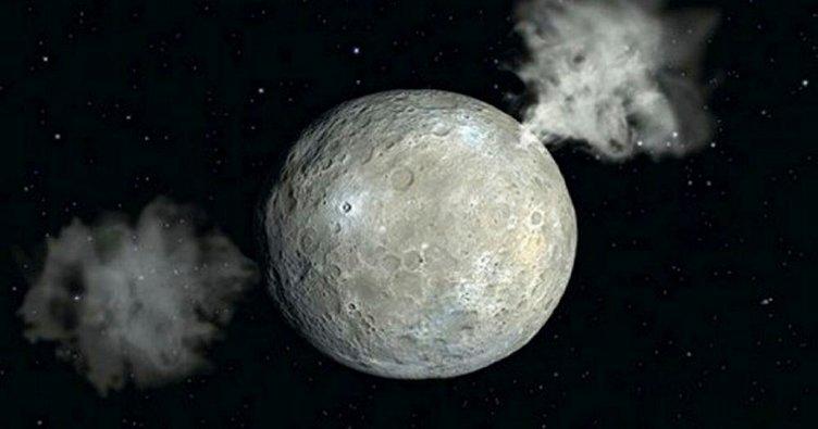 Ceres'te dünyadakine benzer heyelanlar meydana geliyor